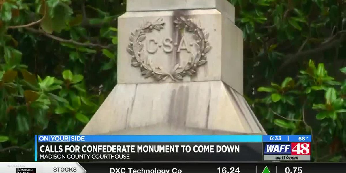 State Representative calling for Confederate monument outside of courthouse to be taken down