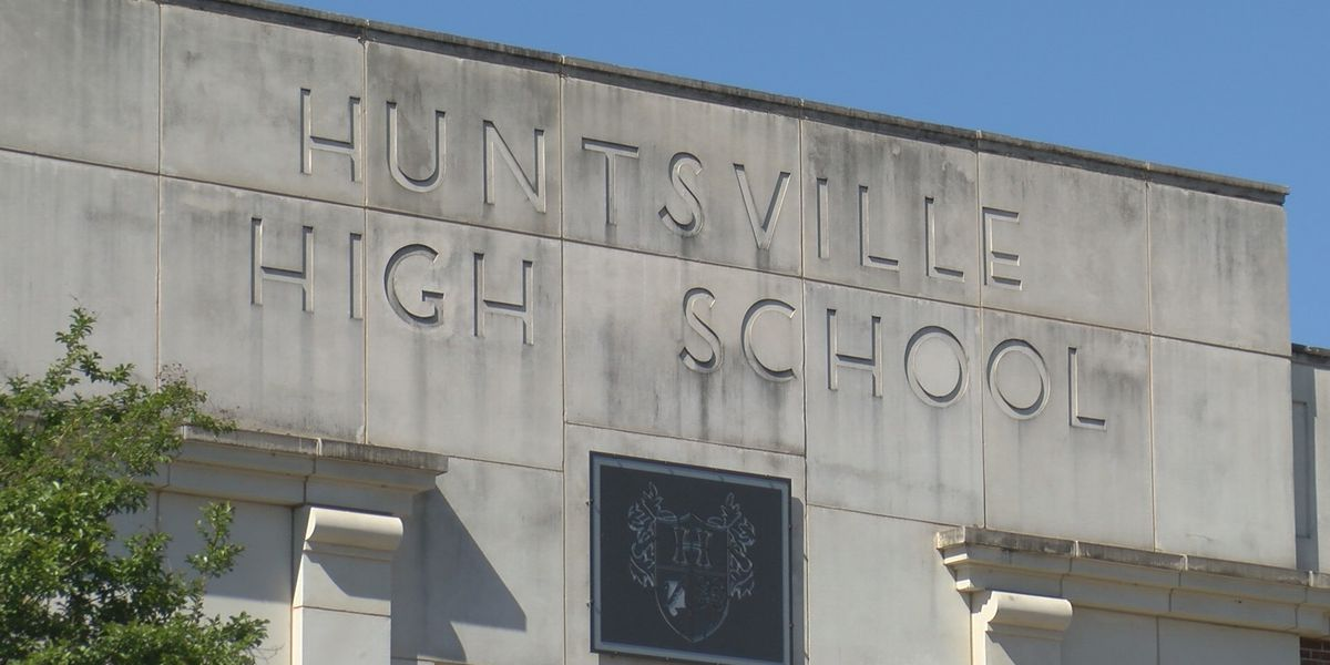 Huntsville High School vandalized during weekend