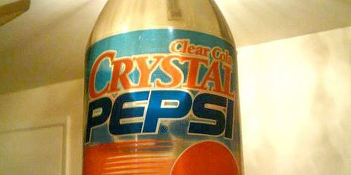 Crystal Pepsi returns as prize in 2-day giveaway