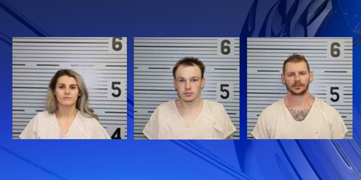 Three suspects arrested after high speed chase in Jackson County