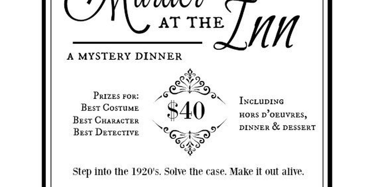 Guests wanted for murder mystery dinner