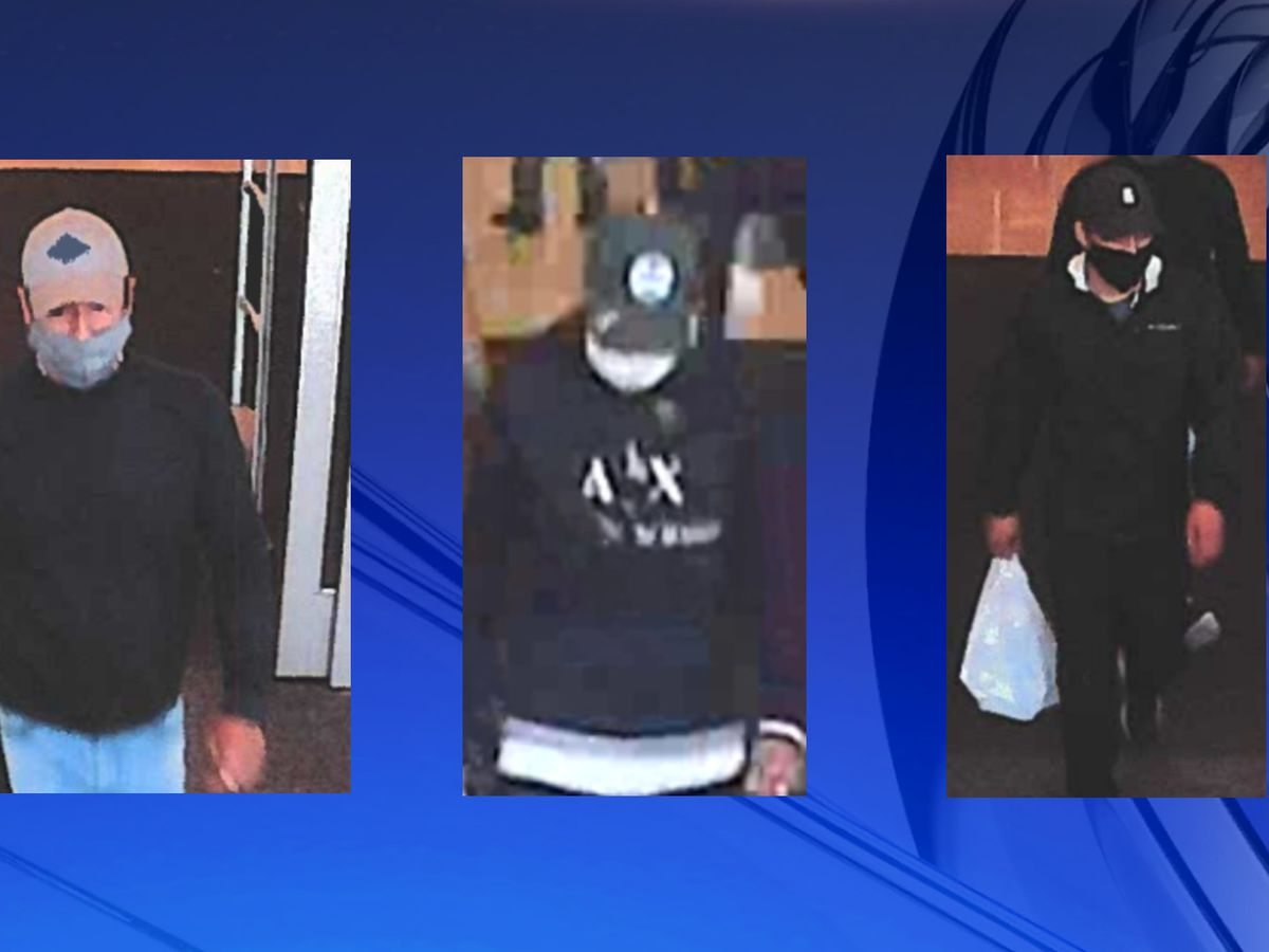Decatur police searching for 3 people in connection to stolen credit, debit cards