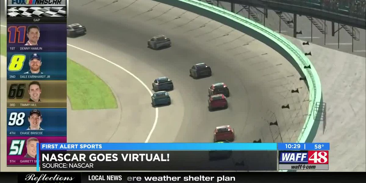 NASCAR goes virtual amid COVID-19 pandemic