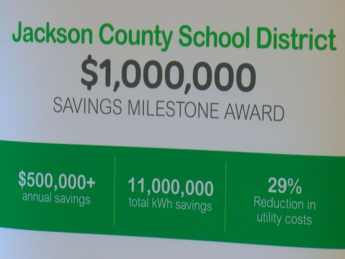 Jackson County Schools energy efficiency program nets $1M back into system