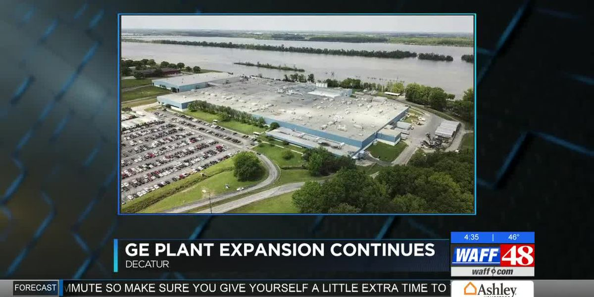 Work continues on GE plant expansion