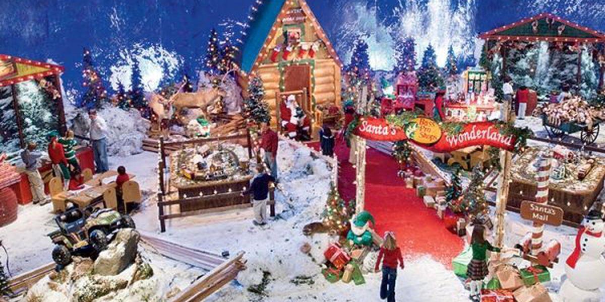 Santa's Wonderland comes to Cabelas