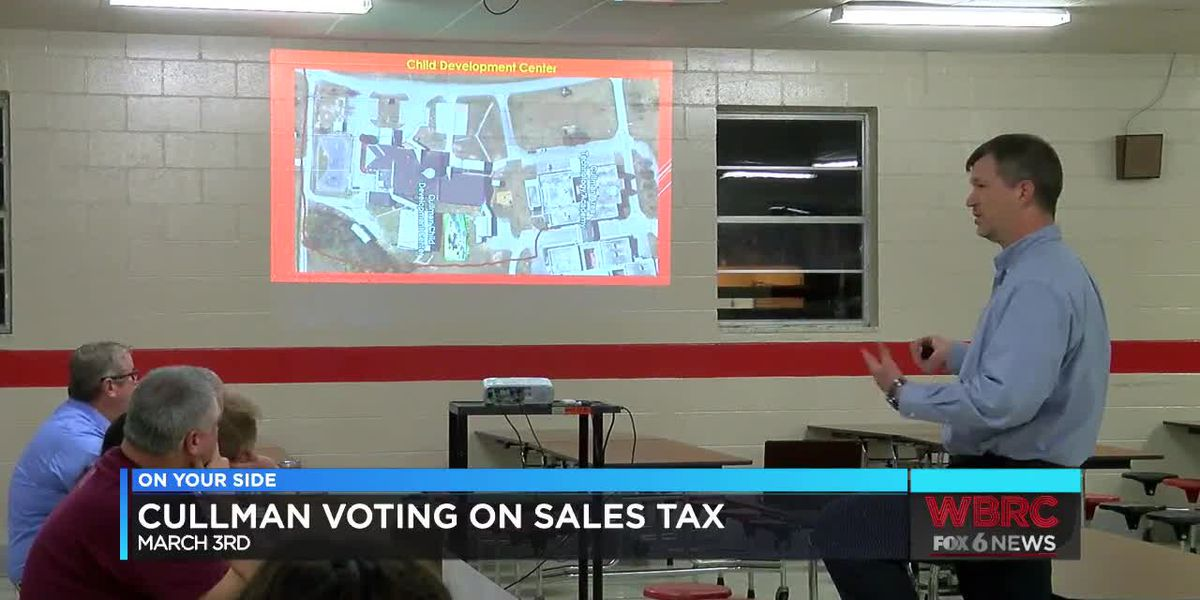 Cullman County Schools asking for 'yes' vote on sales tax increase