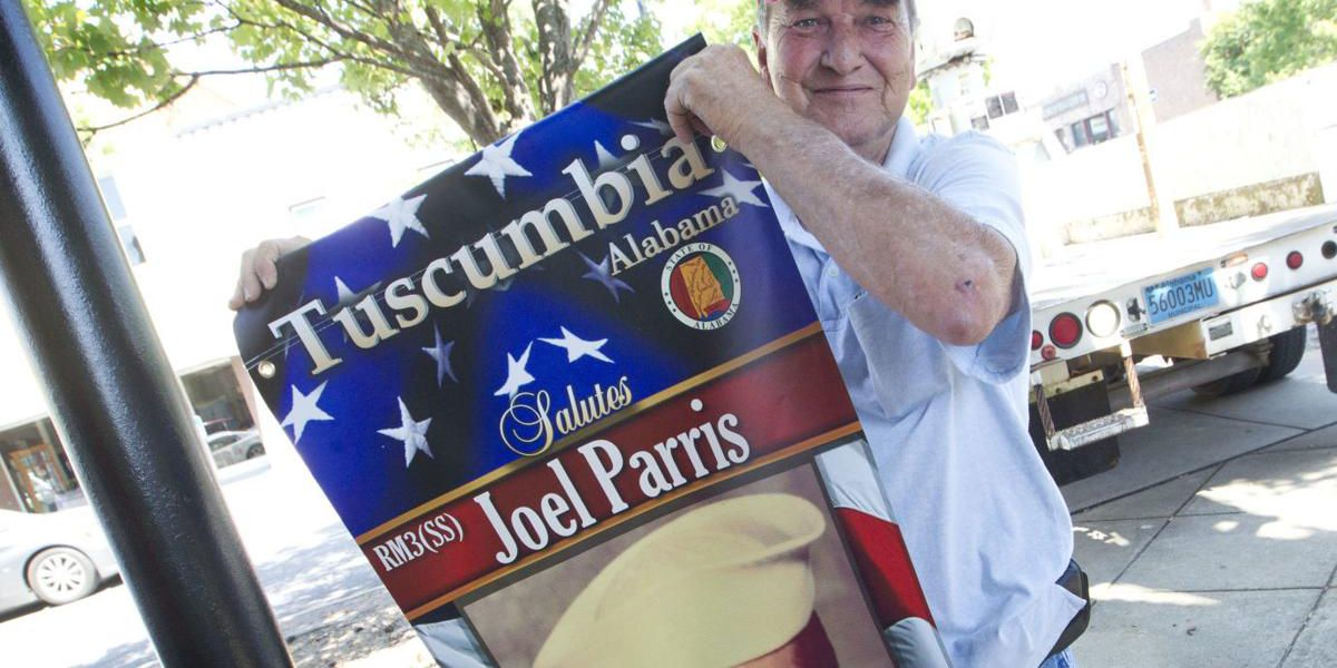 Local veterans featured on downtown banners in Tuscumbia