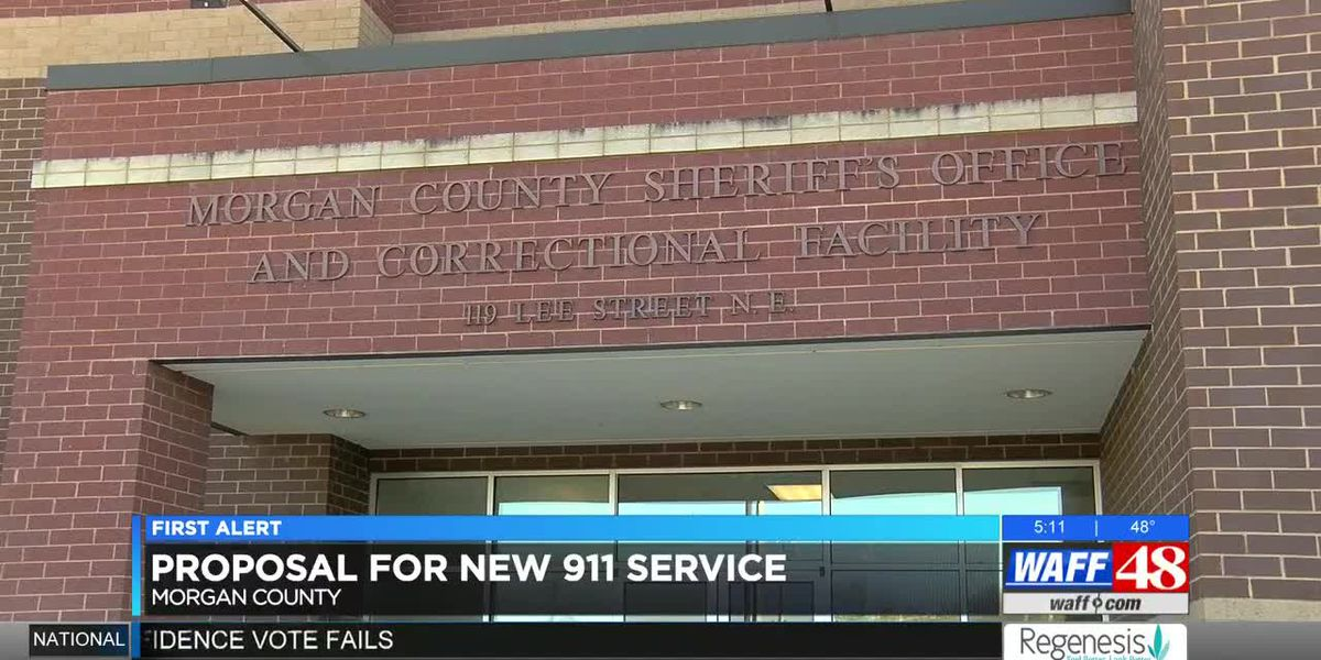 Proposal for new 911 dispatching service in Morgan County