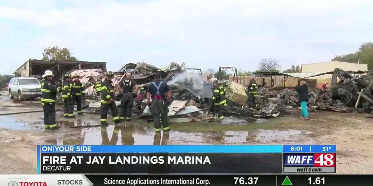 Family speaks out about fire at Jay Landings Marina