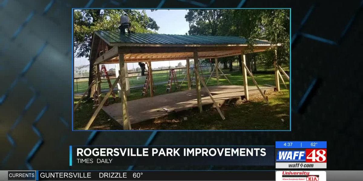 Rogersville Recreation Park using grant money make improvements