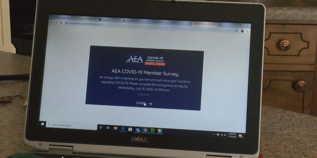 AEA: 65% of surveyed members 'very uncomfortable' with returning to classroom