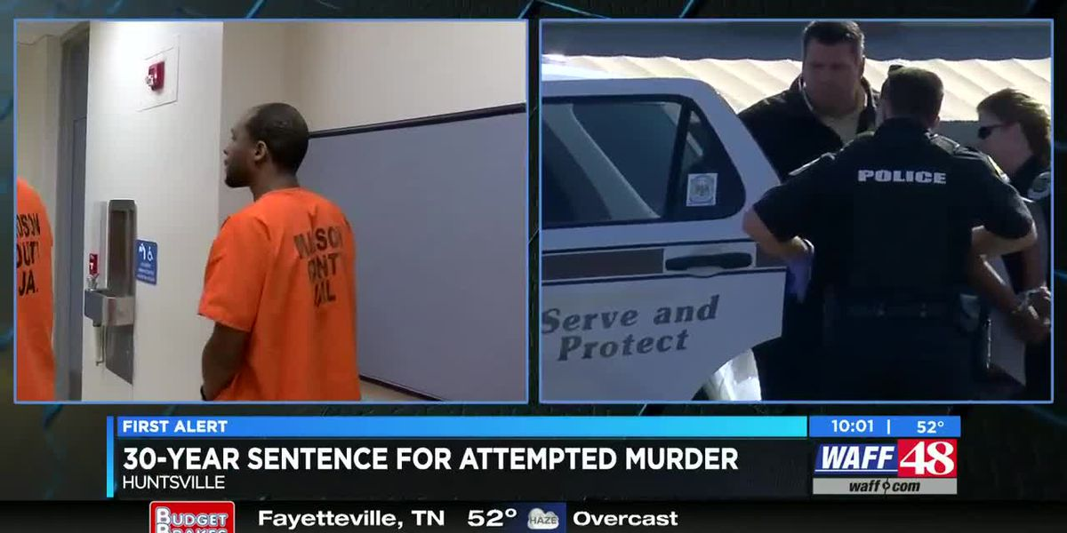 VIDEO: Man pleads guilty to attempted murder of Huntsville police officers