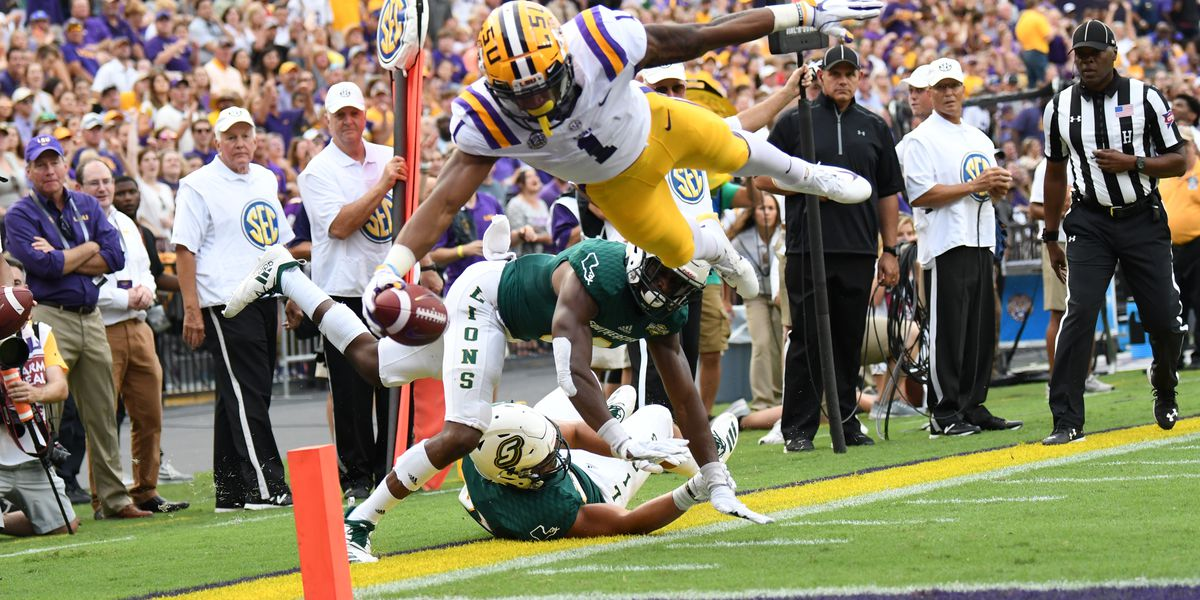 LSU vs Auburn: By the numbers