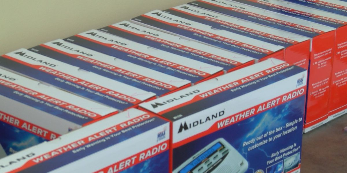 Albertville Fire Department giving out free NOAA Weather Radios to residents