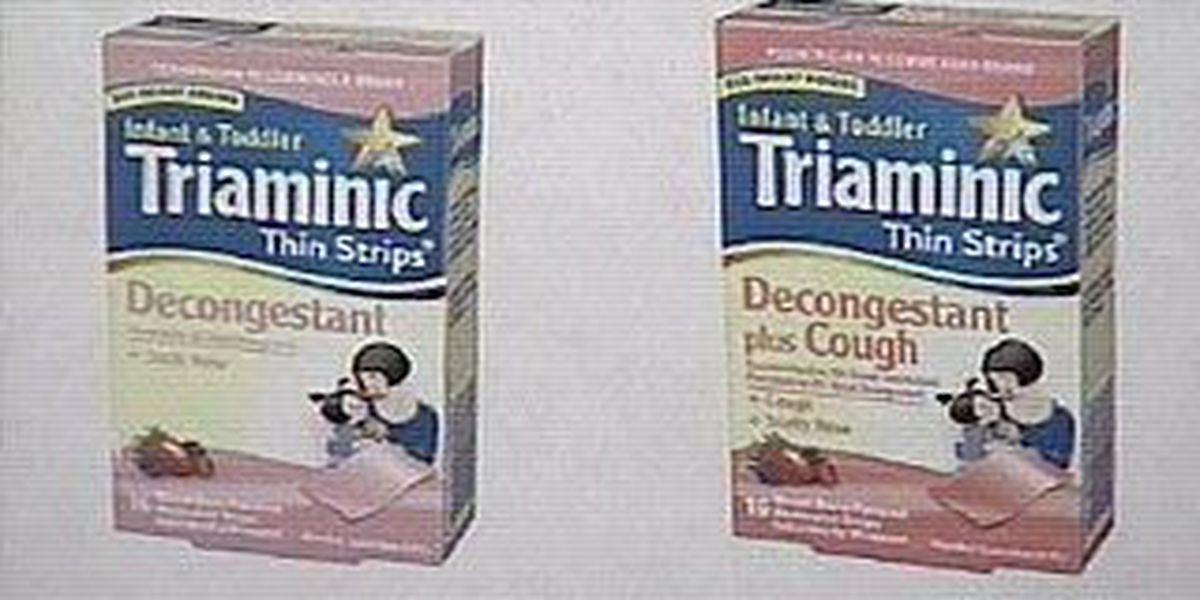 Cough medicine recall
