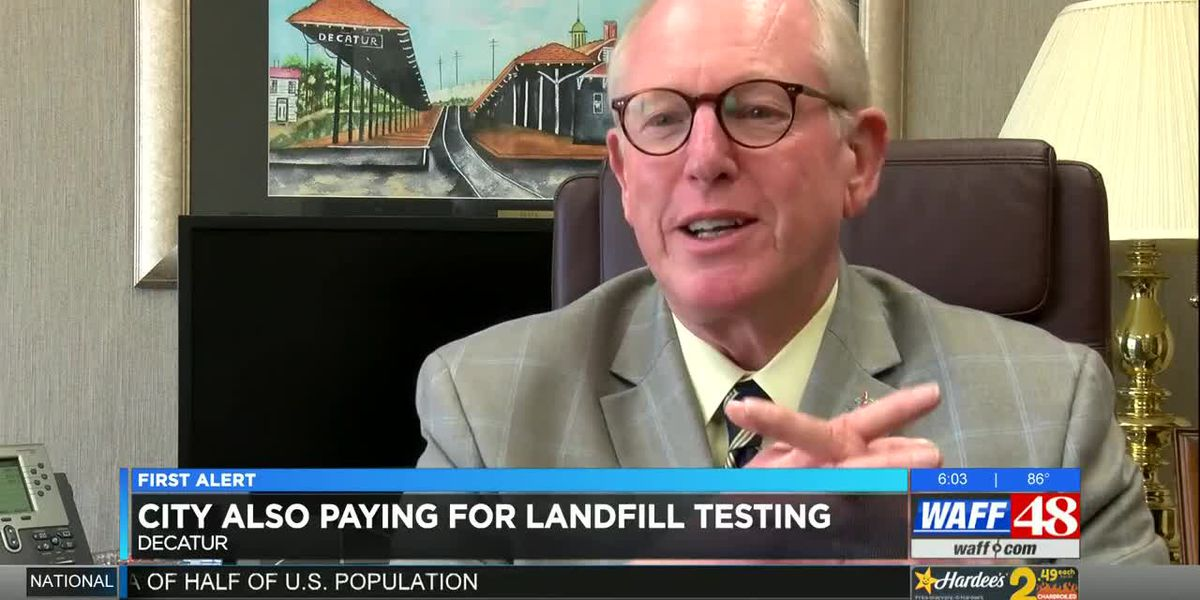 Decatur mayor confirms third-party testing at former 3M landfills
