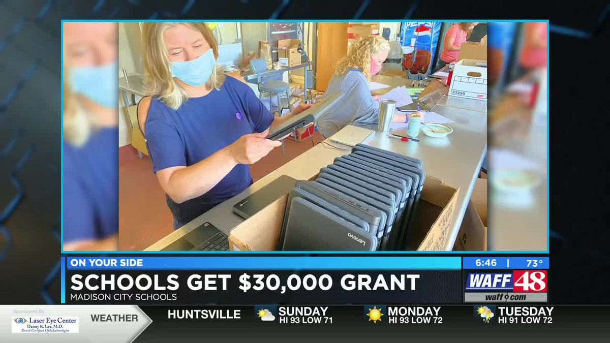 Madison City Schools get grant from Facebook
