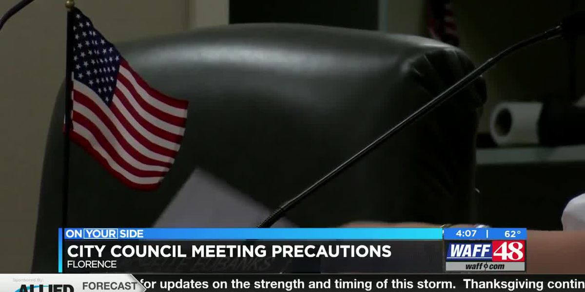 Florence City Council tightens restrictions in city council meetings due to COVID numbers increasing