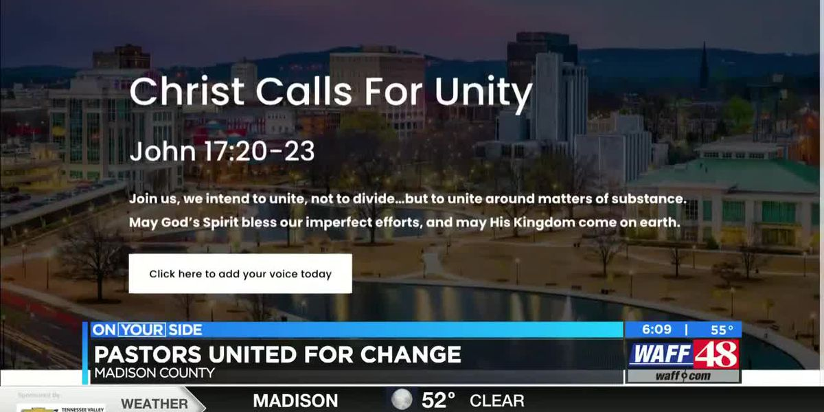 Pastors to sign document in support of racial unity