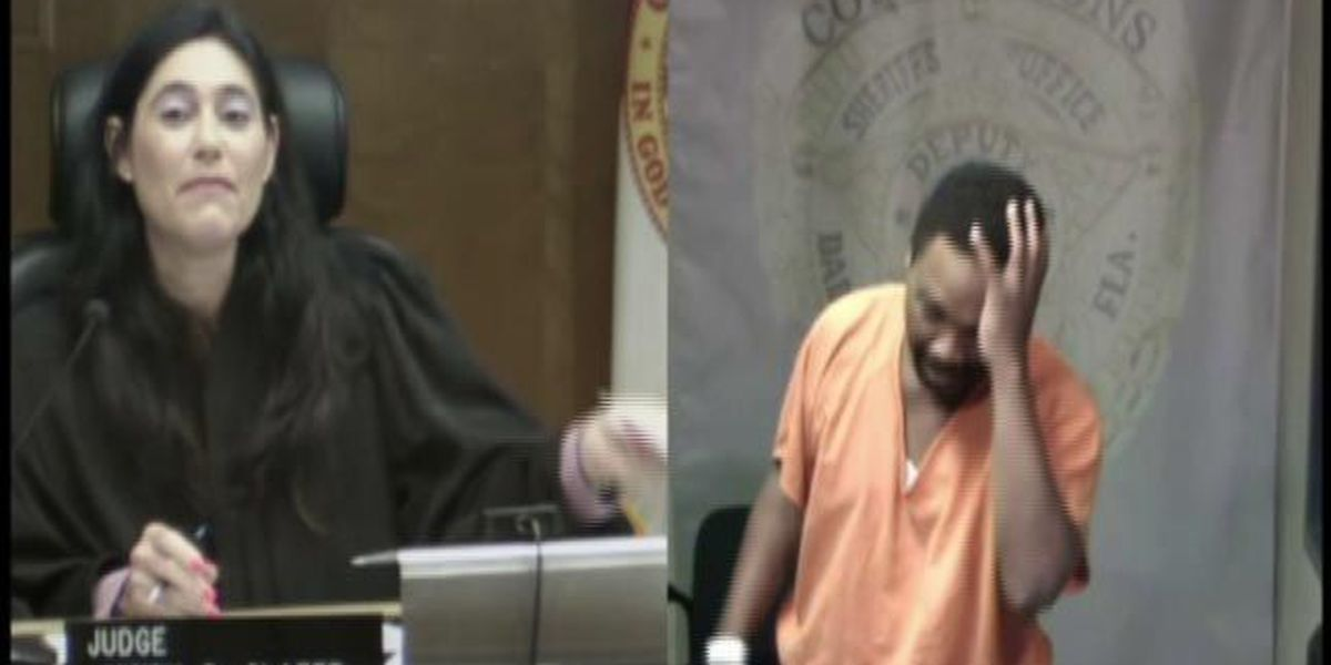 Suspect weeps in court after recognizing judge as former classmate