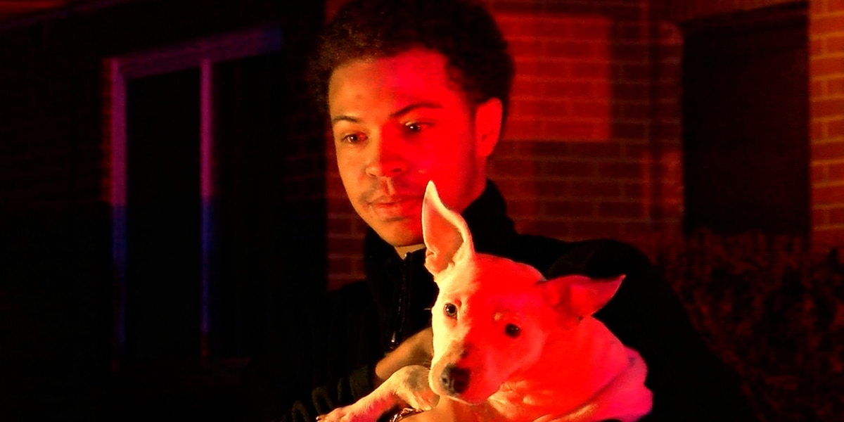 Puppy helps save neighbor from fire at Huntsville apartments