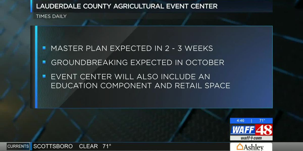 Lauderdale County Agricultural Center project could break ground this month