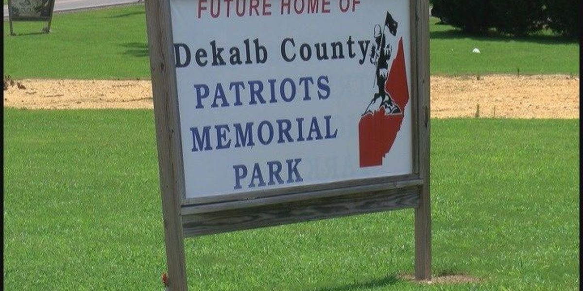 Construction may soon begin for Fort Payne veterans park