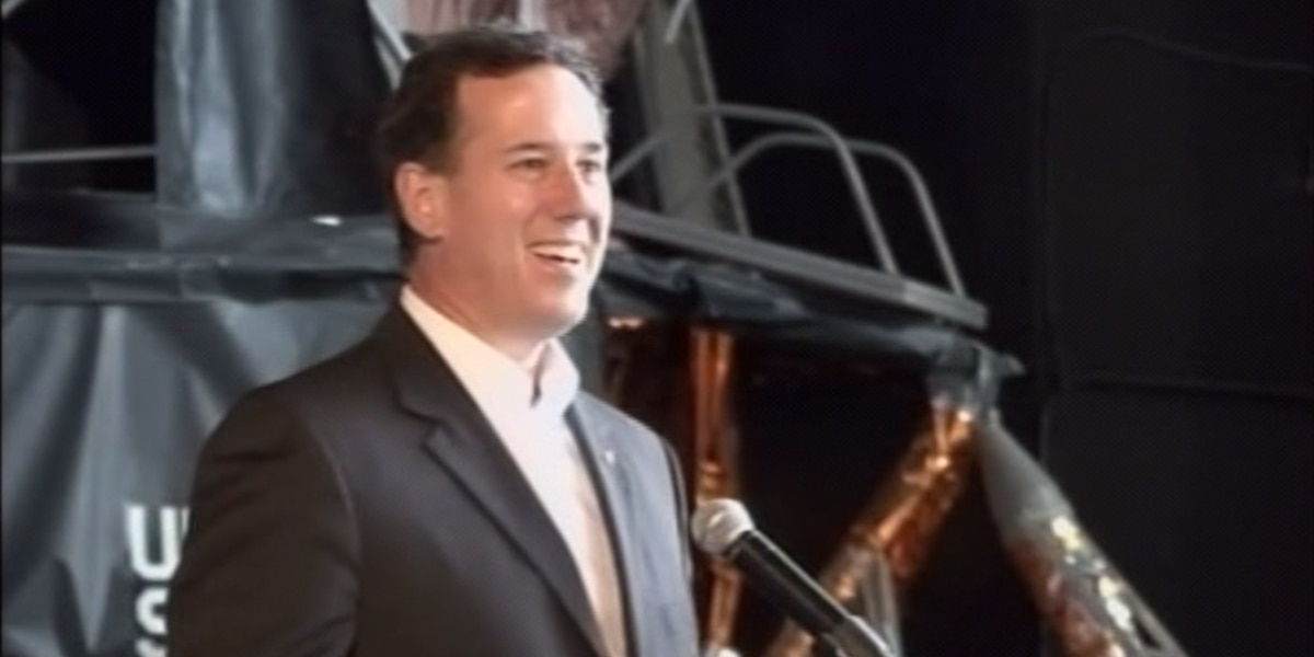 Former Senator, Presidential candidate Rick Santorum to moderate senate debate in Florence