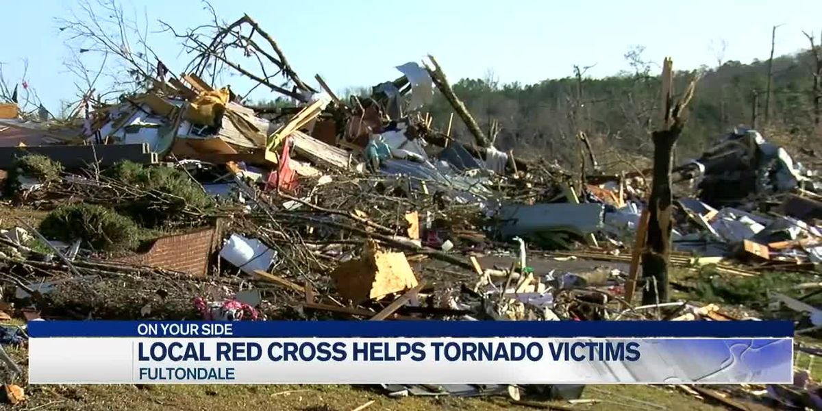 A local Red Cross is helping Fultondale tornado victims