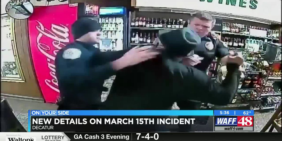 Decatur Police Chief identifies officer who punched store owner in March