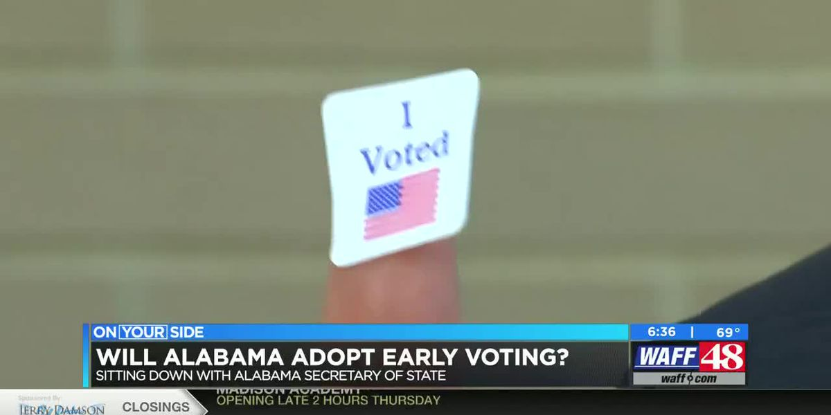Will Alabama adopt early voting?