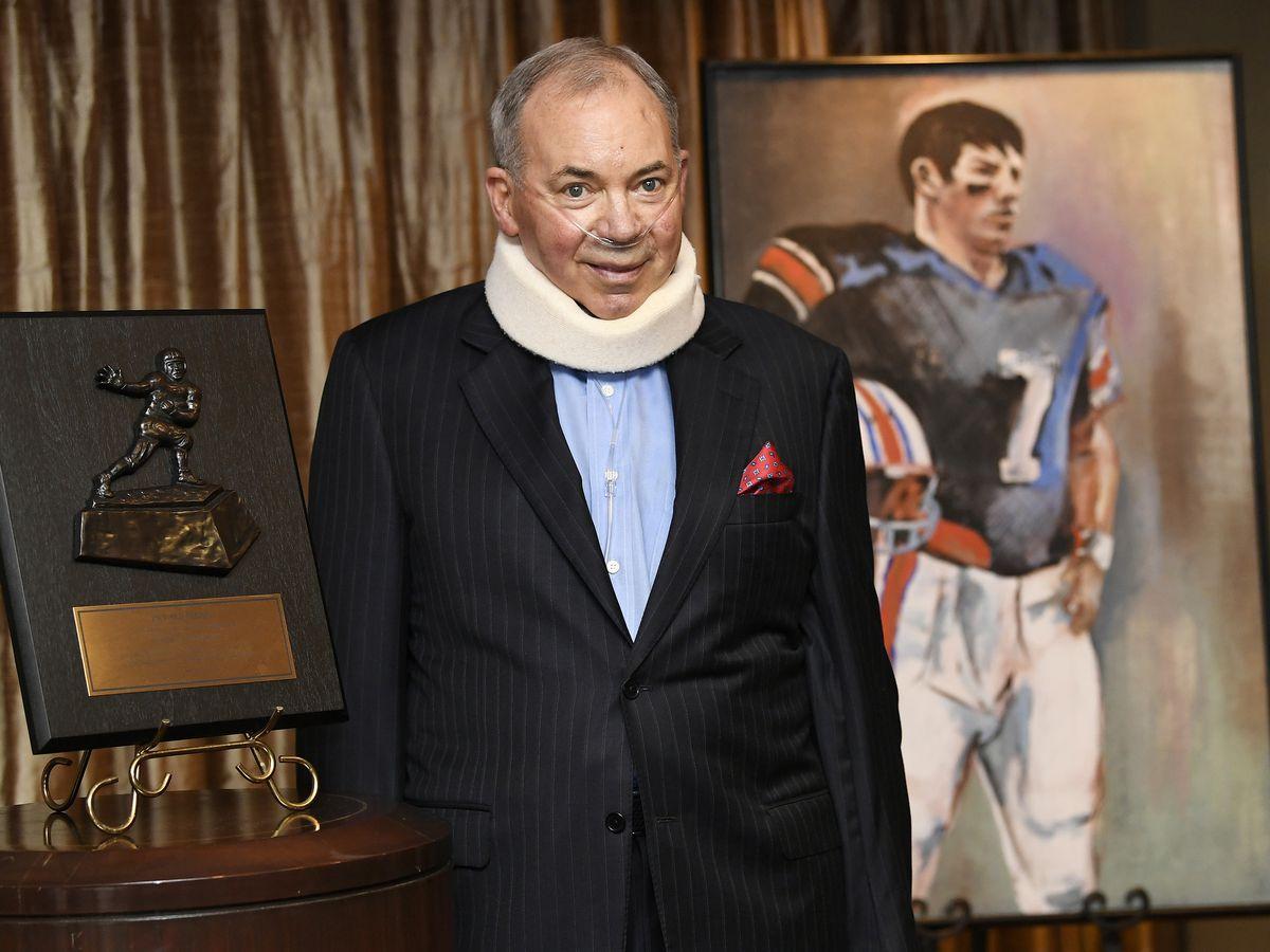Former Auburn quarterback, Heisman winner Pat Sullivan dies
