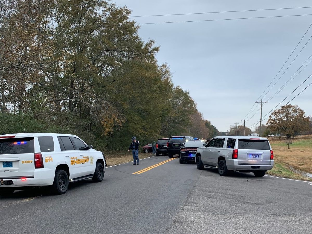 High speed chase ends with crash and suspect arrested in DeKalb County