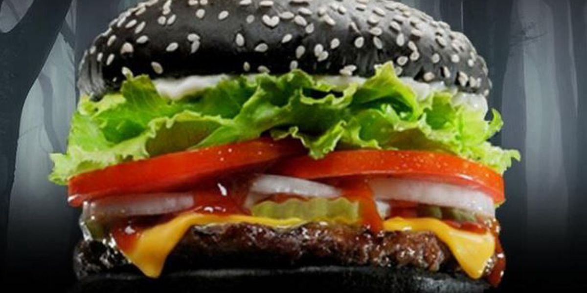 "Burger King whops out ""black burger"" for Halloween"