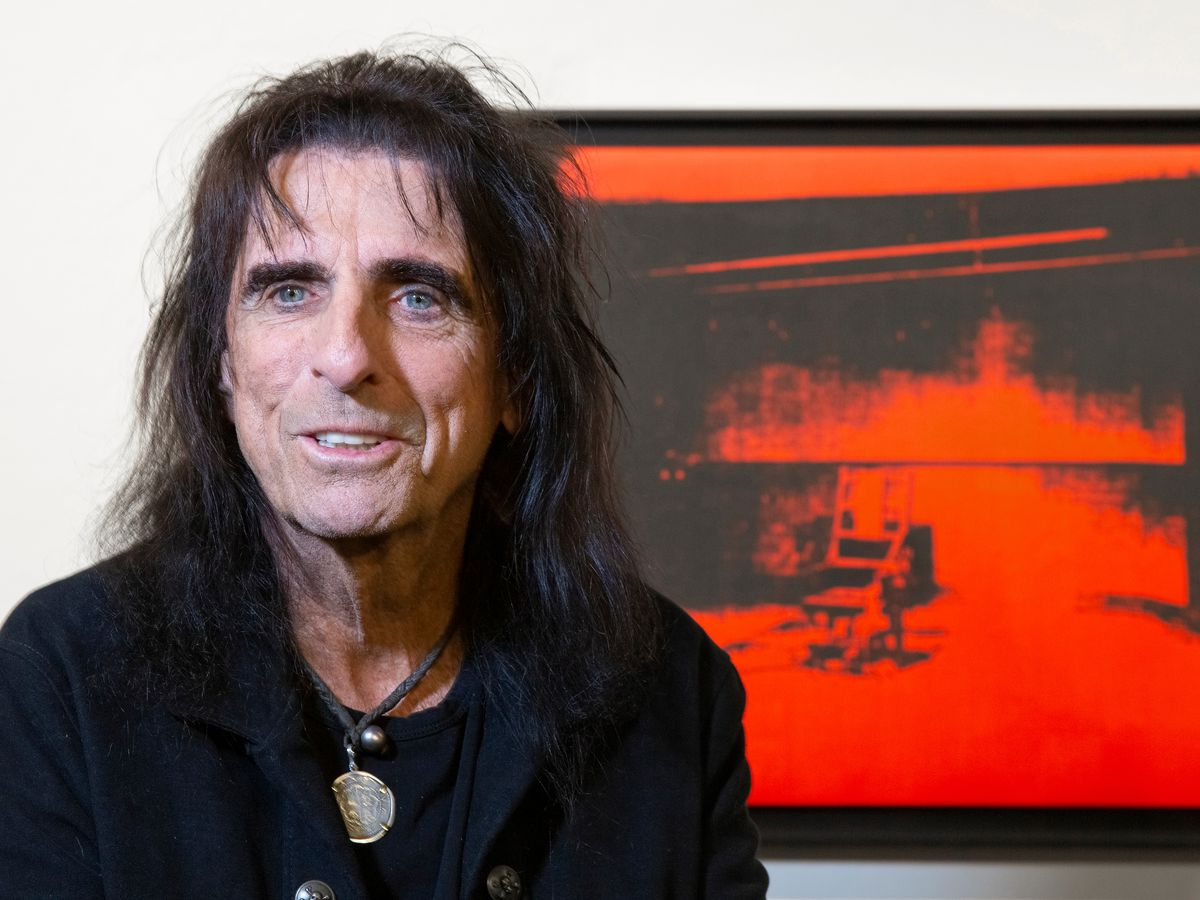 Rock legend Alice Cooper to auction off Andy Warhol artwork