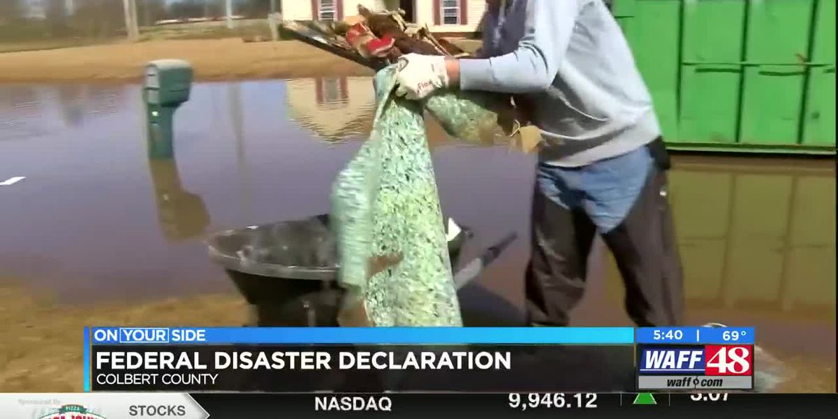 Colbert County utilizes Federal Disaster Declaration