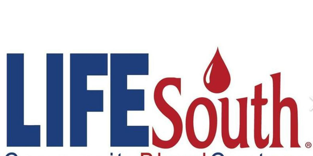 LifeSouth makes push for Memorial Day weekend blood donations