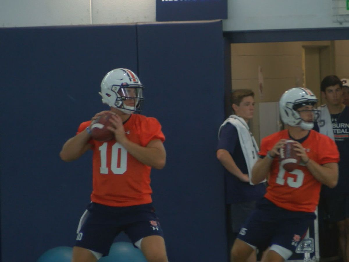 Watch! Auburn football begins Fall Camp