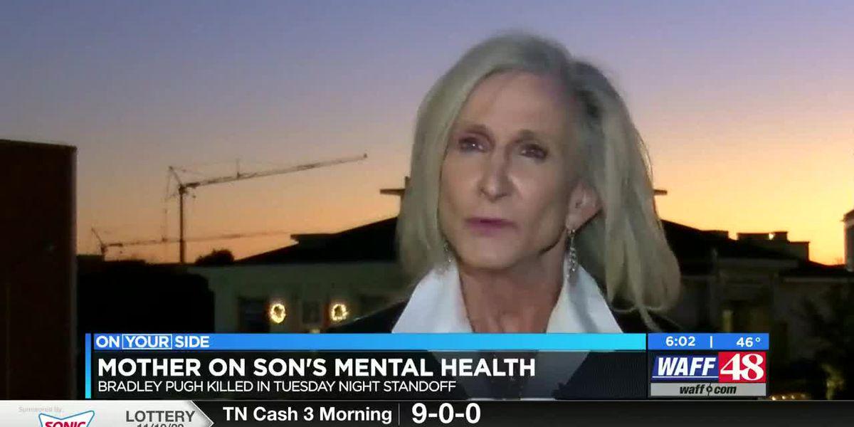 Mother of Huntsville man killed in police standoff speaks out