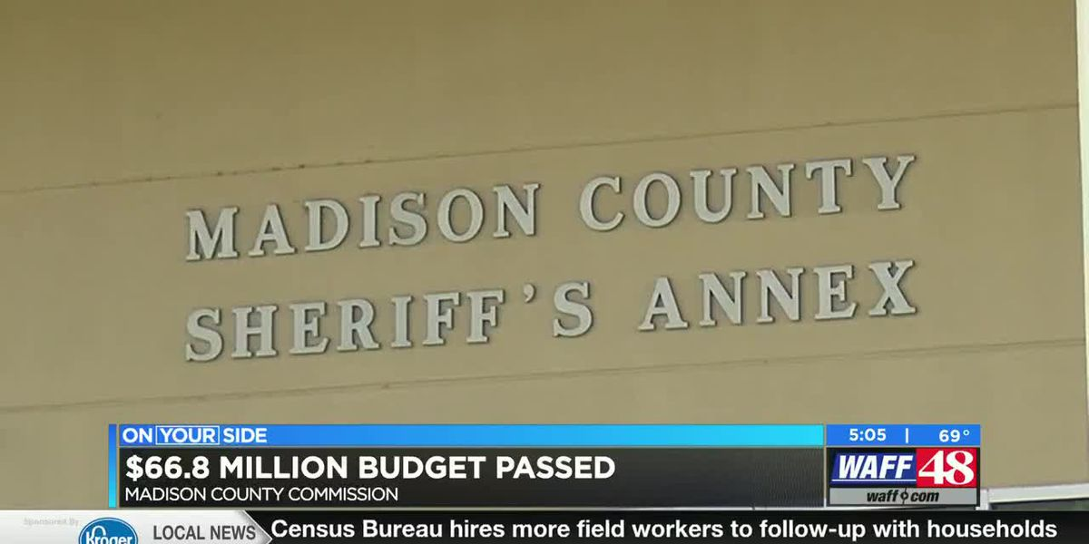 Madison County commissioners approve new $67 Million budget
