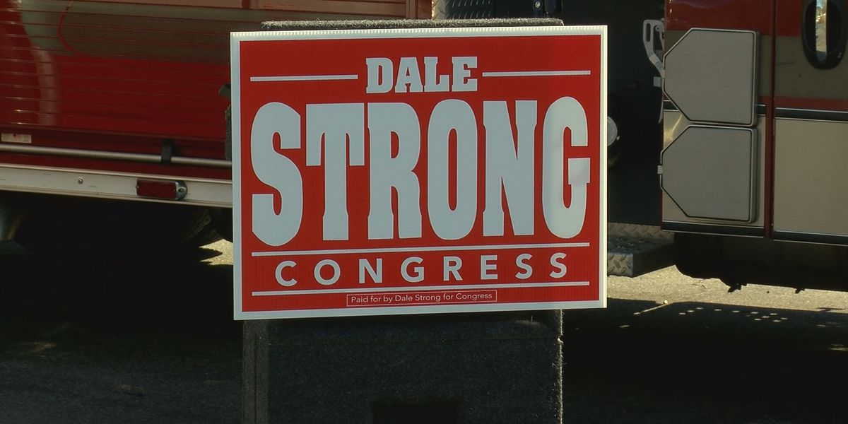 Dale Strong is running for Congress