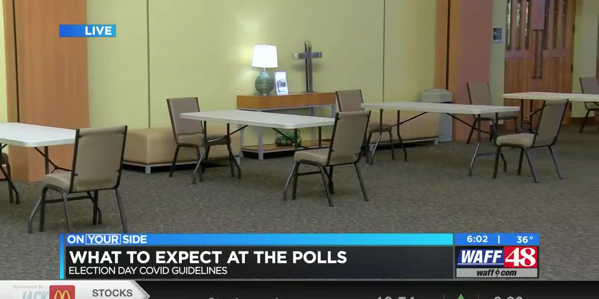 COVID precautions to expect at the polls