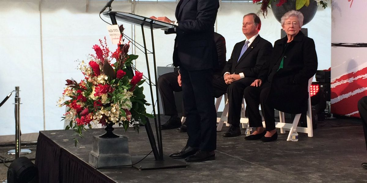 WATCH: Mazda Toyota Huntsville plant groundbreaking