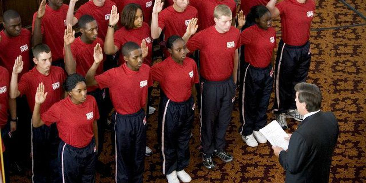 Riley swears in new Guard members on 9/11 Anniversary