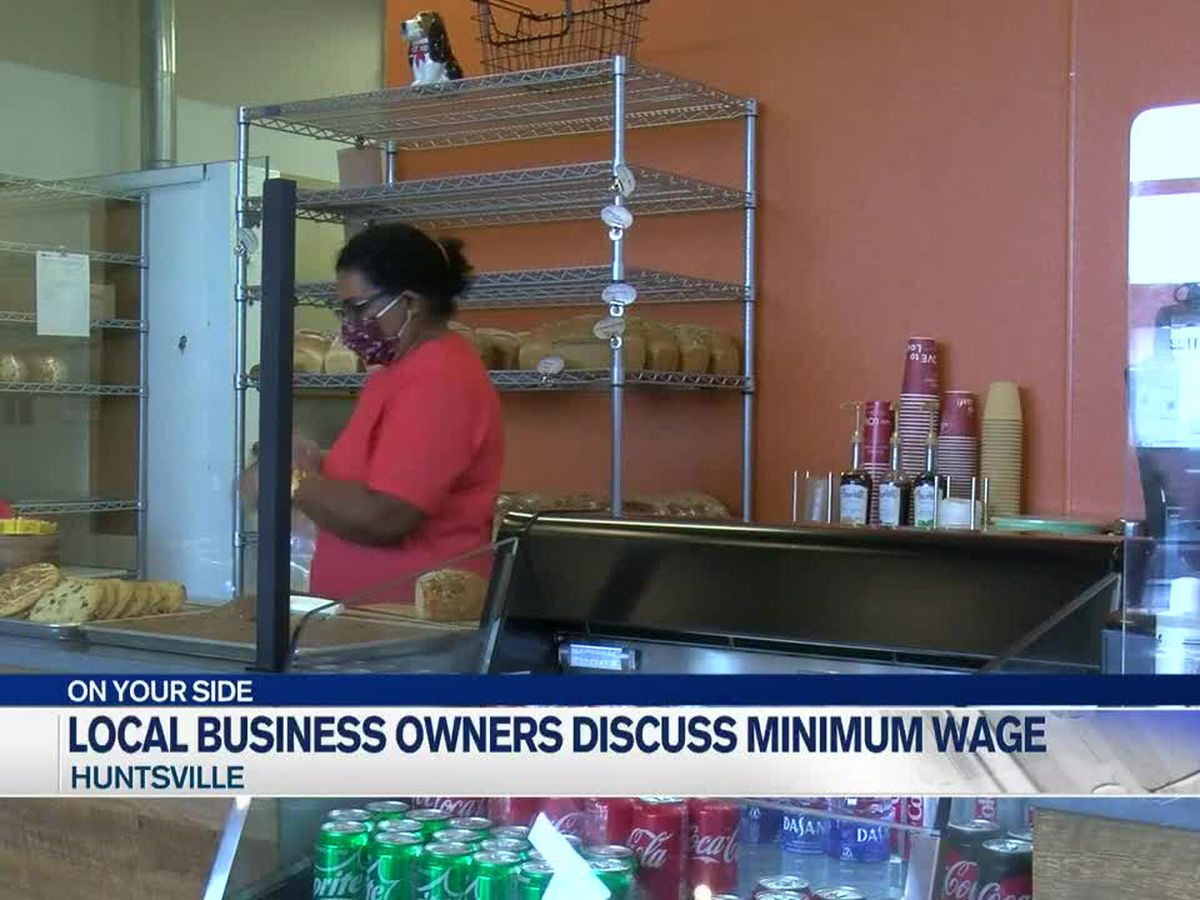 Local businesses discuss minimum wage proposal