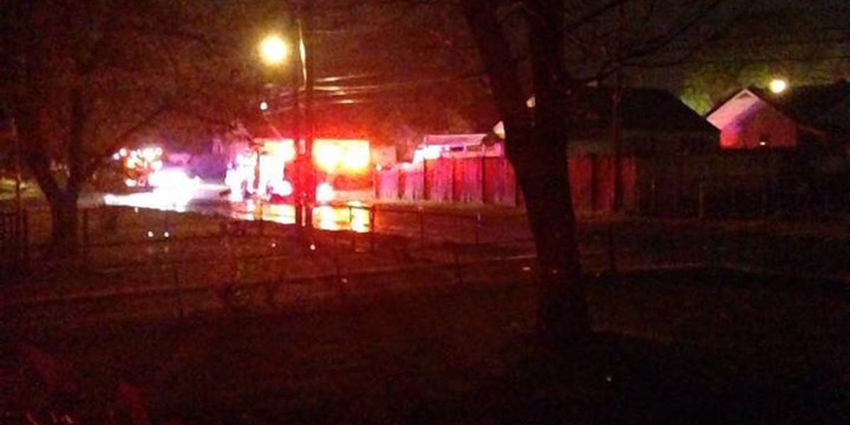 2 transported to hospital after house fire on Beech Avenue