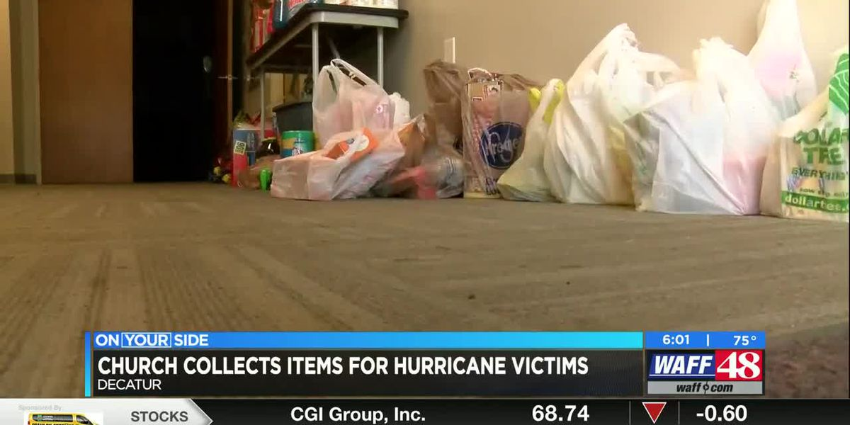 Decatur church collecting items for hurricane relief