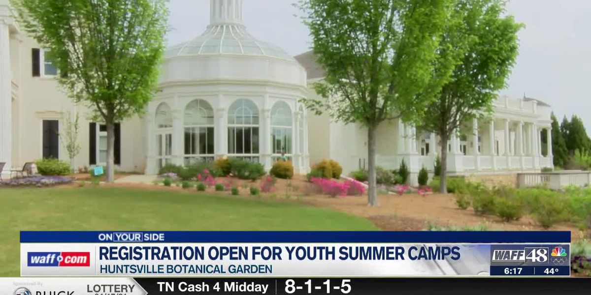 Huntsville Botanical Garden gears up for youth summer camps