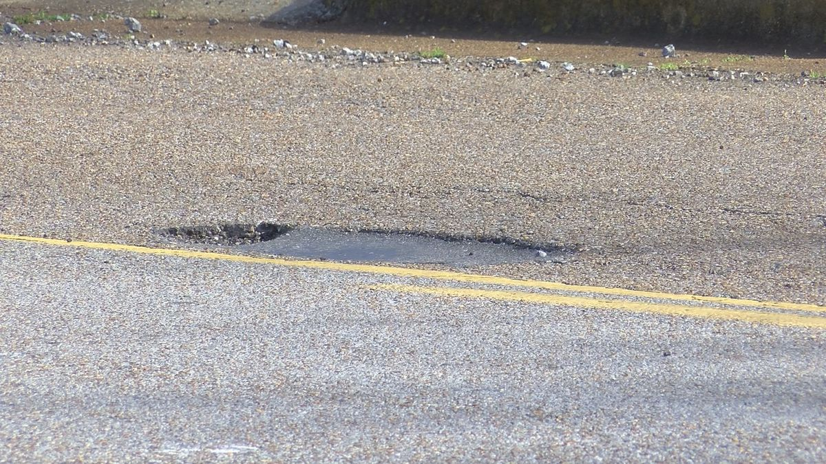 Drivers concerned with potholes on city and county roads in Huntsville